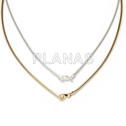 Omega chain sterling silver 40cm