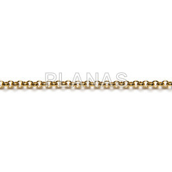 Steel chain 316, rolo 3mm, to meters.