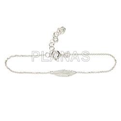 Bracelet in sterling silver.pen.