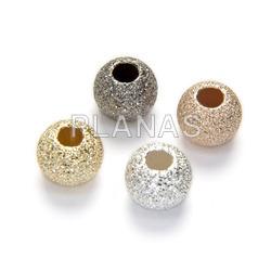 Silver diamond ball 8mm